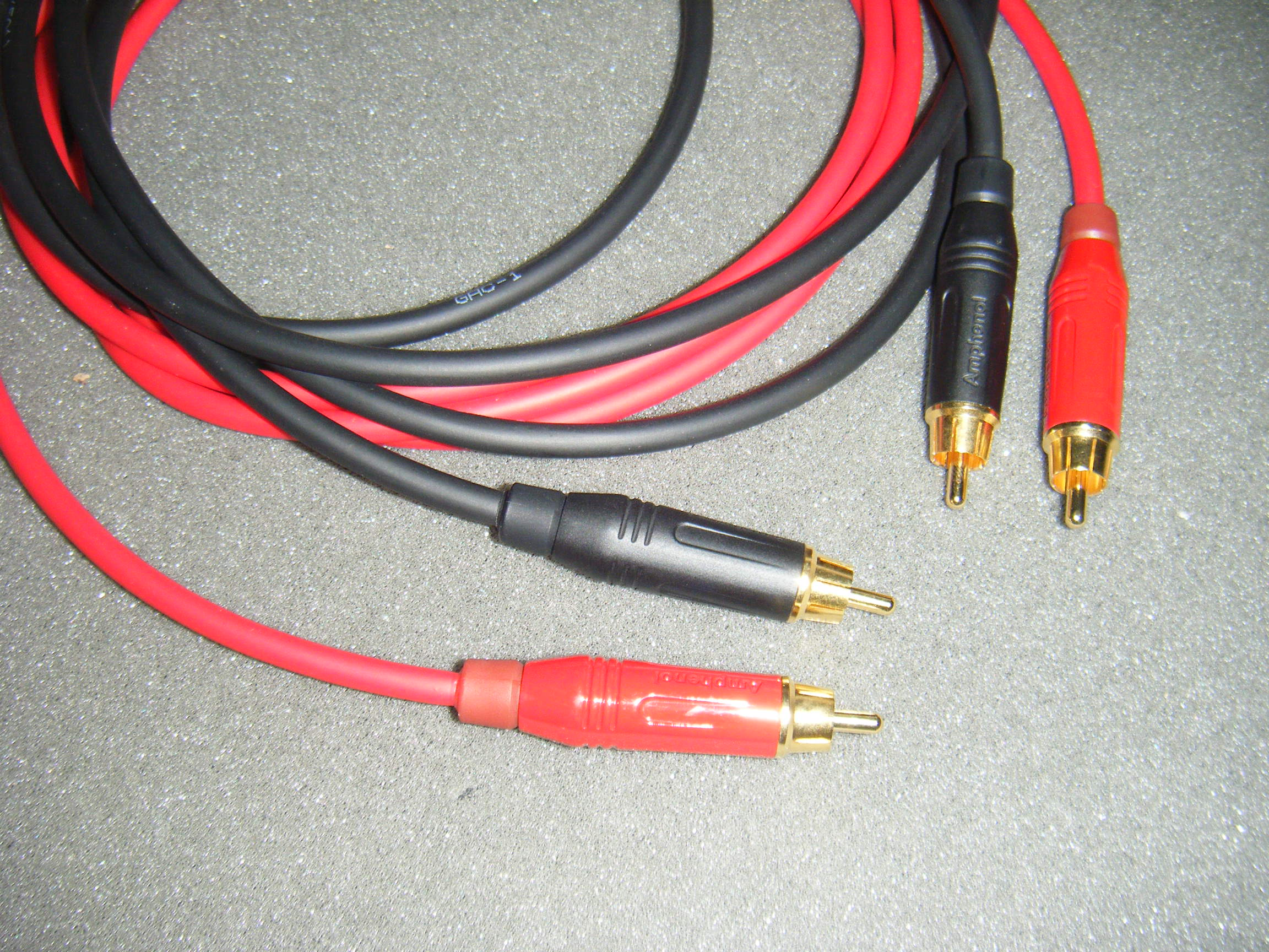 Gotham Audio Llc Cables Phono Analog How To Wire A Dmx Jack Ultimative Rca Hi End Cable Gac 1 Ultra 1001 X Chinch 1000 Guitarcable 4 Mono